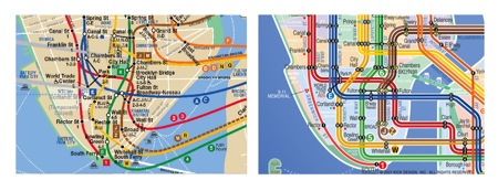 alternate NYC subway map