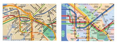 Helpful Distortion At Nyc London Subway Maps Signal V Noise