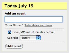Add an event