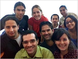 Members of the BootStudio team