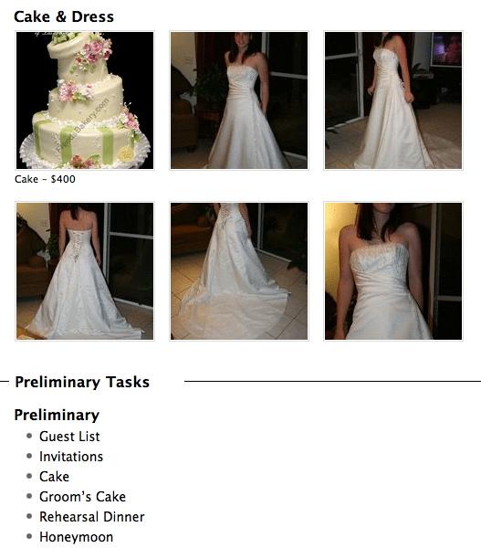 cake/dress