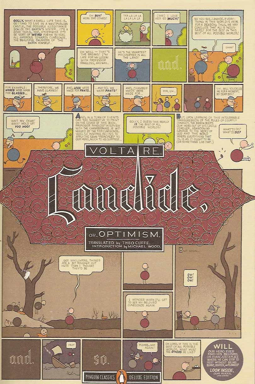 wealth and happiness in voltaires candide Voltaire's candide: summary & analysis voltaire's candide is the story of an innocent man's experiences in a mad and evil world, his struggle to survive in that world, and his need to ultimately come to terms with it.