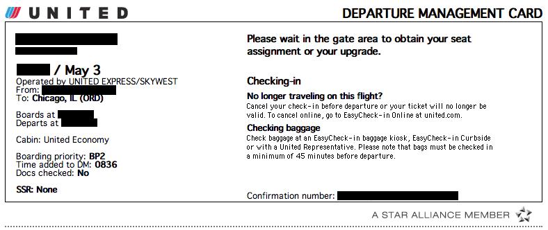 Departure Management Card Signal V Noise