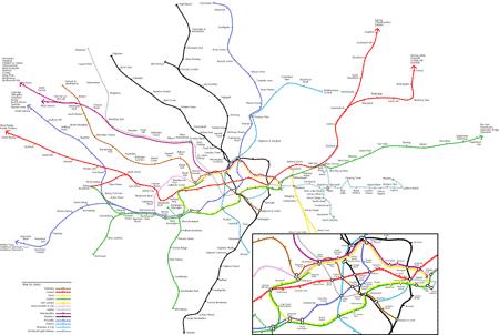 london tube maps