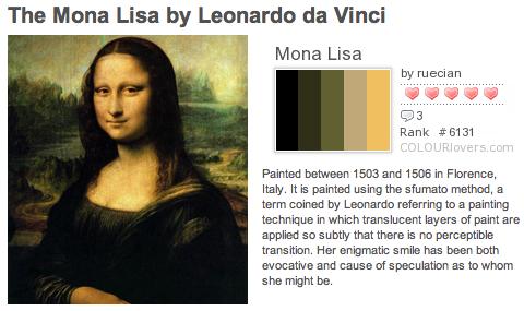semiotic analysis of mona lisa 22042016 leonardo da vinci, mona lisa (1503–1517) courtesy of wikipedia commons the mysterious smile of leonardo da vinci's mona lisa has.