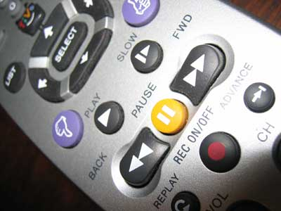 TiVo Remote: The Pause Button (Signal vs  Noise)