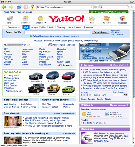 The Old Yahoo
